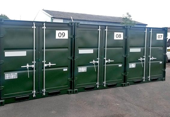 10 футовые контейнеры
