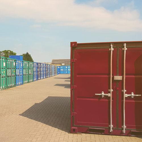 Хранение вещей в склад-контейнере
