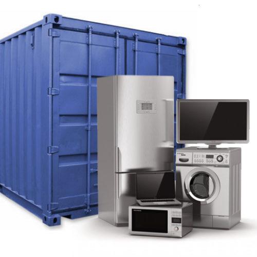 Аренда контейнера для хранения бытовой техники в Москве