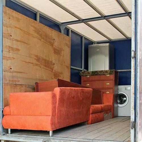 Аренда контейнера для мебели в Москве