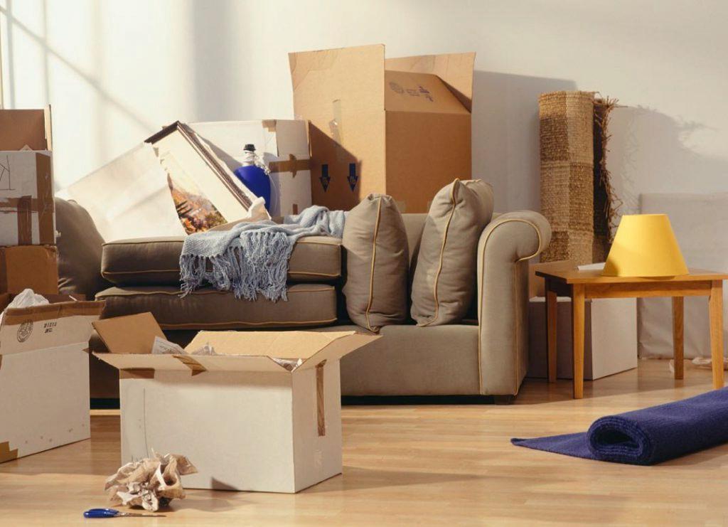 Аренда контейнера для мебели