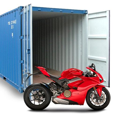 Аренда контейнера для хранения мотоциклов