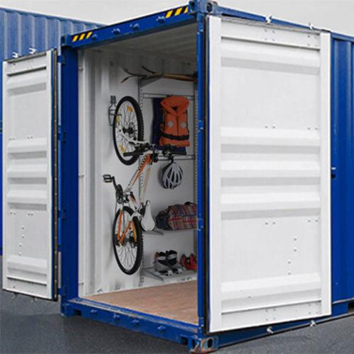 Аренда контейнера для хранения спортинвентаря в Москве