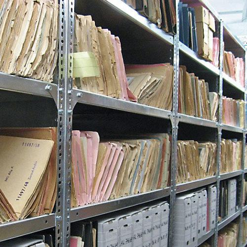 Аренда контейнера для хранения документов в Москве