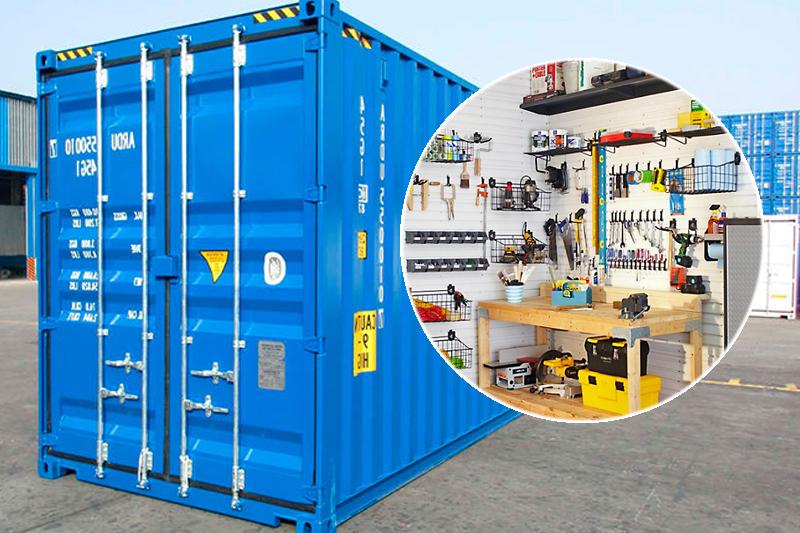 Аренда контейнера для хранения инструмента и оборудования